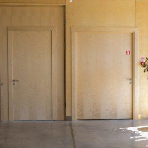 Gludas berza durvis - Biblioteka-min